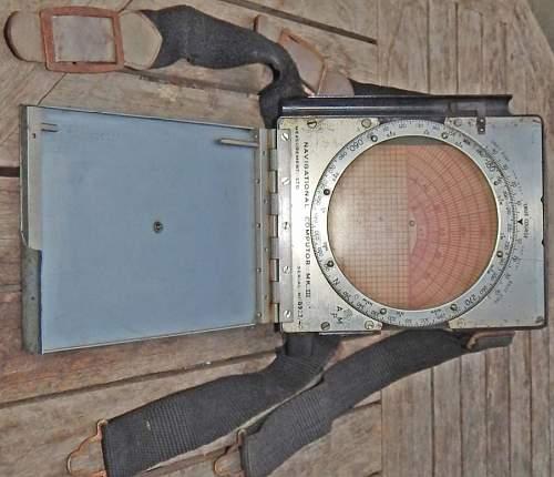 WWII Air Ministry A.M. PILOTS Knee Pad Navigational COMPUTOR Mk 3 D. R.A.F 1940