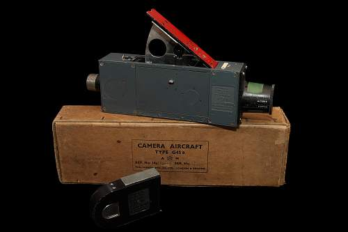WWII Spitfire Camera and film
