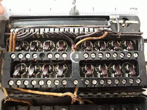 Lancaster Bomb Arming Switchbox 5D/655