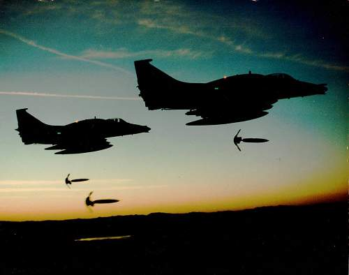 Pic's from my old Squadron A4M Skyhawks