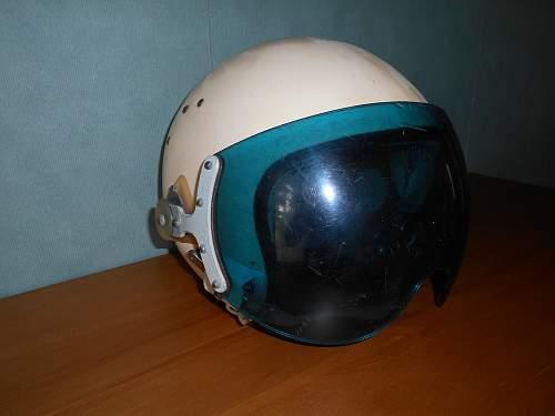 1960's Soviet Jet pilot helmet