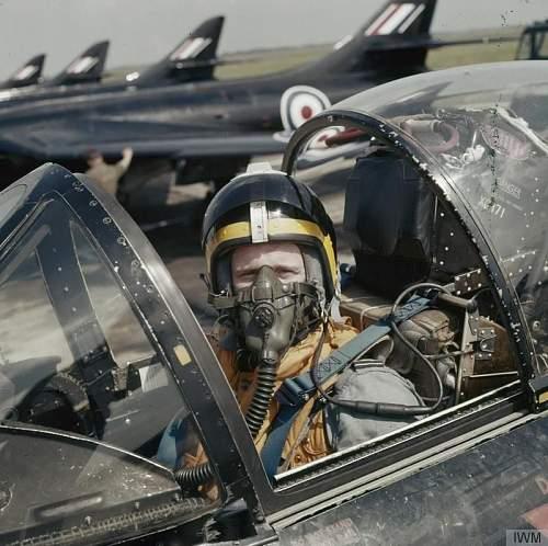 1965 British Jet pilot's helmet, RNZAF stock