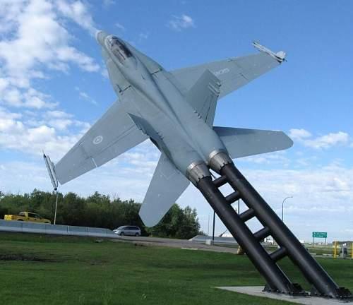Jets at Cold Lake Alberta Canada