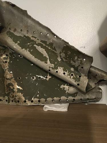 Bristol Blenheim Crash Relic