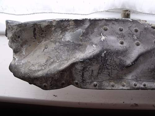 If not a WW2 1944 Stuka relic then what ? Dug up in Normandy