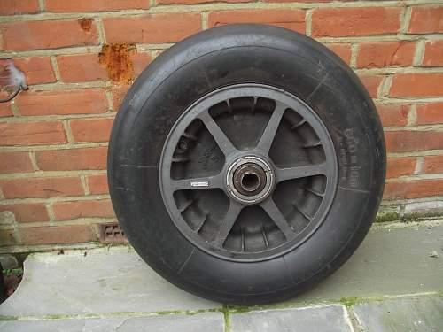 Bf109 E/F main wheel value needed