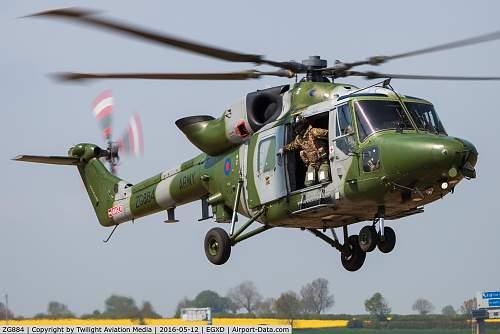 Westland Lynx control stick