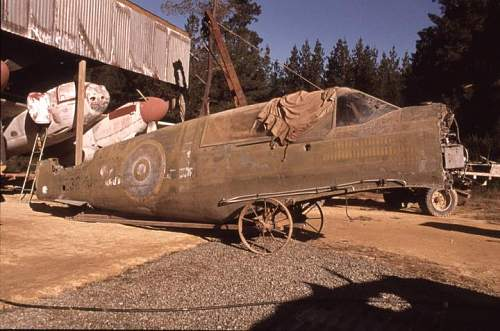 NZ farmer's secret WW2 aircraft collection of 60 years
