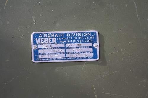 Aircraft seat Id help needed.
