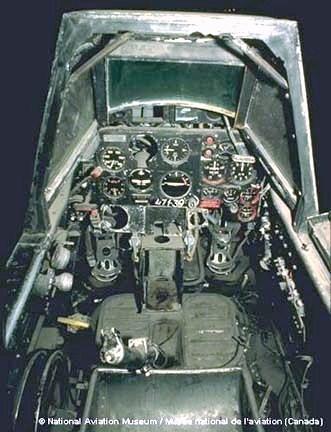 Fighter windshield.