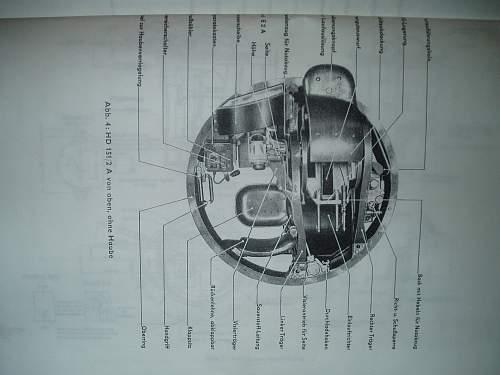 Hydraulische Laffete A2  MG 151 u HDL MG 15