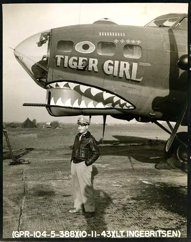 Click image for larger version.  Name:11-10-1943 Tiger Girl B-17G.jpg Views:1099 Size:205.3 KB ID:244946