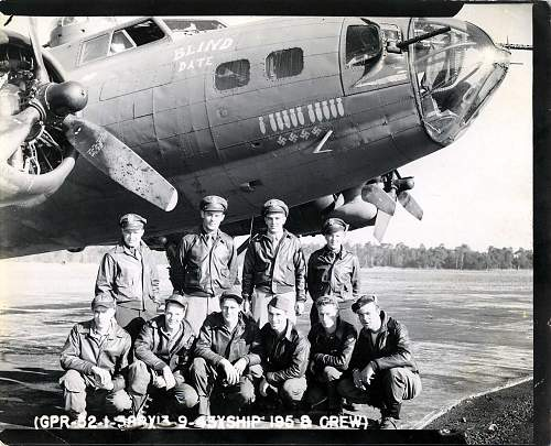 Click image for larger version.  Name:9-14-1943 B-17F and Crew.jpg Views:415 Size:261.8 KB ID:244961
