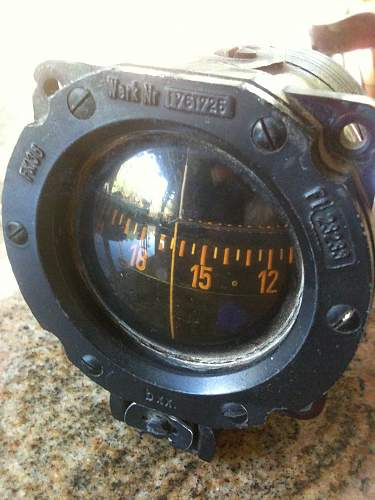 WW2 German Aircraft Instrument, needs to be ID'd!
