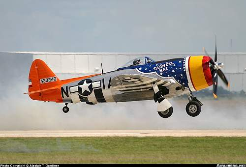 My great uncles airplane: P47 Thunderbolt