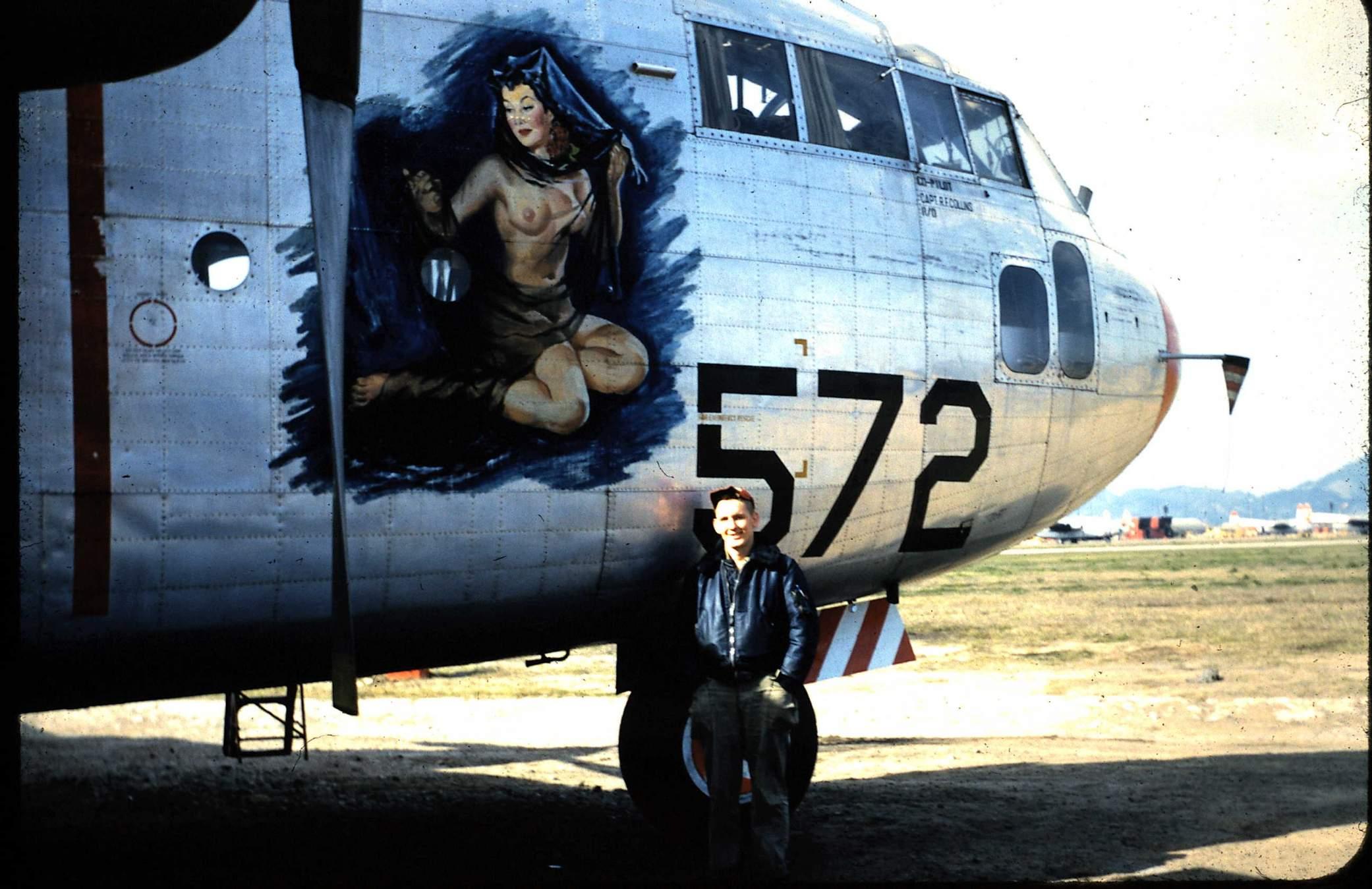 Korean War C-119 photos