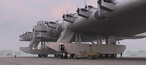 Russian flying fortress...BIG!