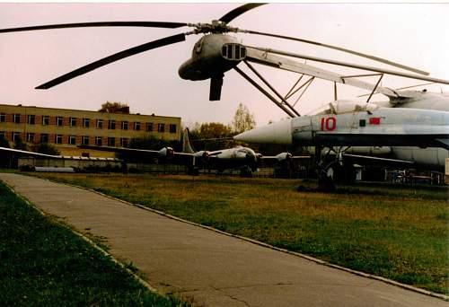 Soviet 'B-29' Monino airfield