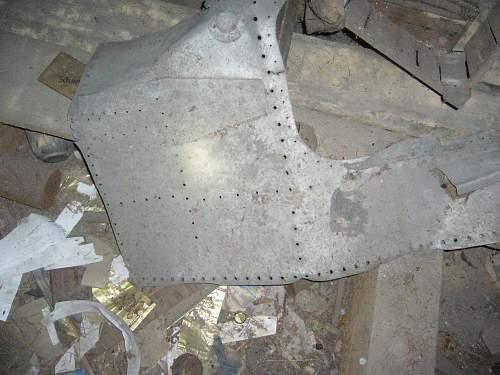 Metal Sheet found  in loft