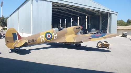 Spitfire Flap Lever