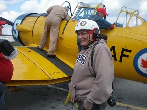 Harvard  training plane