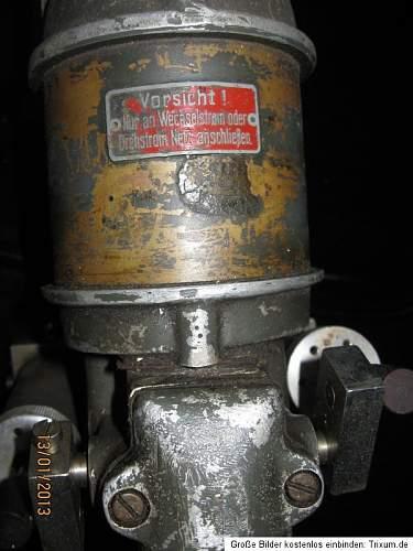 German twin piston compressor