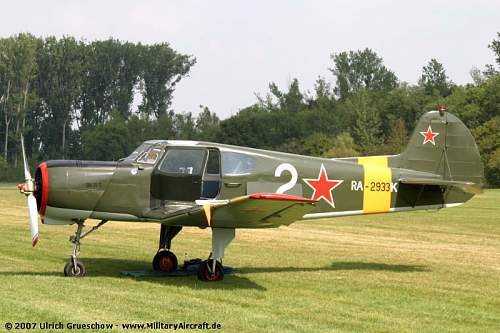 Russian Aircraft found in parking lot