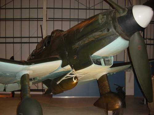 Anyone interested in Ju87 Stuka and its restoration