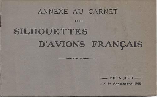 Silhouettes D'Avions Francais