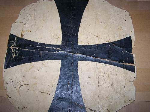 Just arrived - possible AEG G11 (WW1 German bomber) tail fin