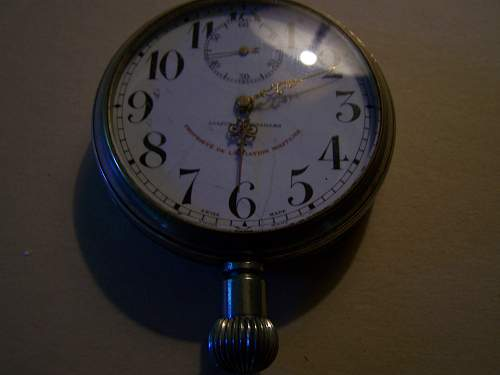 Allion a Versailles Cockpit Clock - probably for a Spad