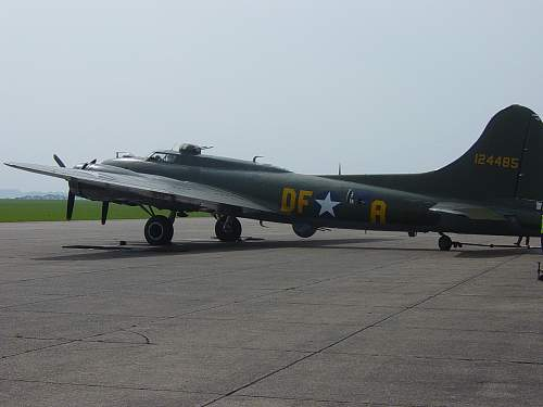 """The """"Sally B"""": the UK's only airworthy B17 Flying Fortress"""