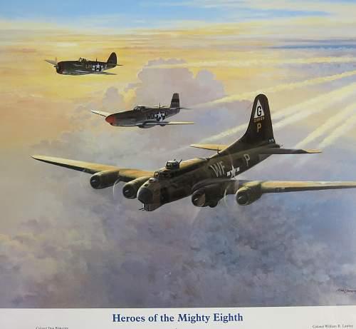 Aviation artist Robert Taylor prints