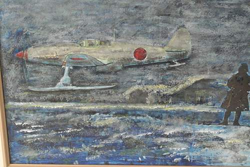 "What the Hack !? Painting of  Ki-61 Hien ""Tony"" with Skids !!!"