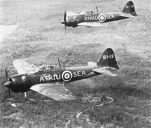 Click image for larger version.  Name:Capt A6M2  and A6M5.jpg Views:272 Size:98.8 KB ID:625310