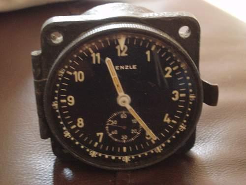 2 German Aircraft clocks