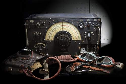 RAF Aircraft Radio set