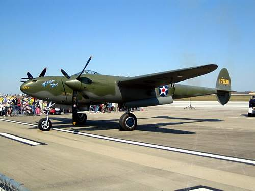 """P-38 """"Glacier Girl""""...resurrected from the ice"""