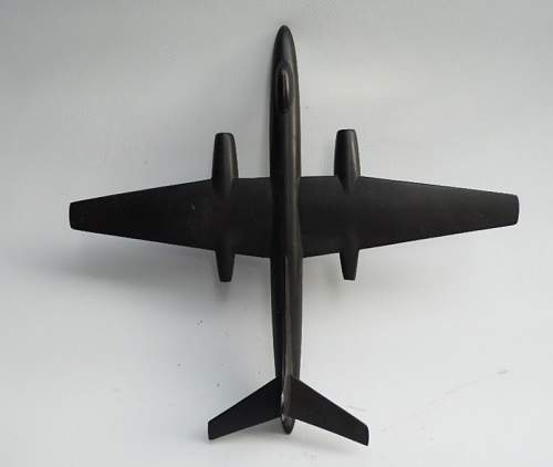 Metal casted model for identification