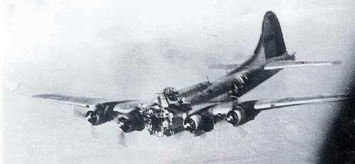 Battle damaged and still flying