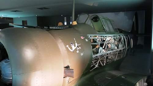 Australian War Memorial Aircraft displays.....