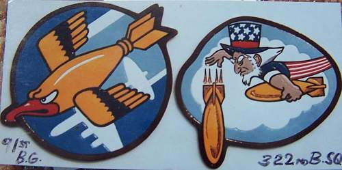 Leather Squadron/Group patches .........................