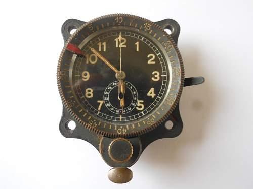 BF 110 Clock