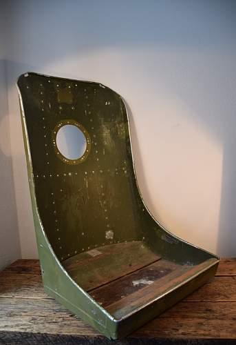 Luftwaffe plane seat