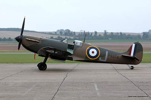 Spitfire up for auction.