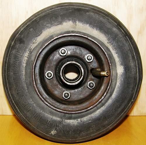 Rear Wheel from German Fighter