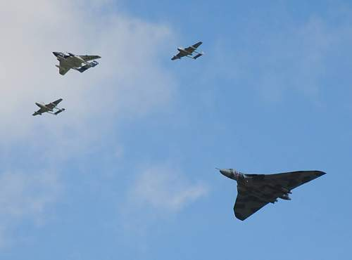 Avro Vulcan's Last Display At RIAT July 18th-19th 2015....Only A Handful More To Come.