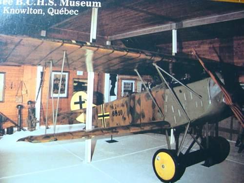Fokker D-VII biblane