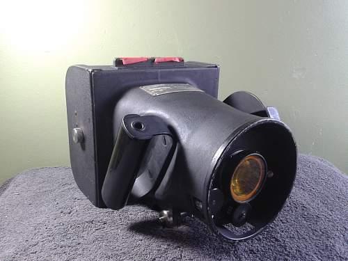 Ww2 aircraft camera k-20