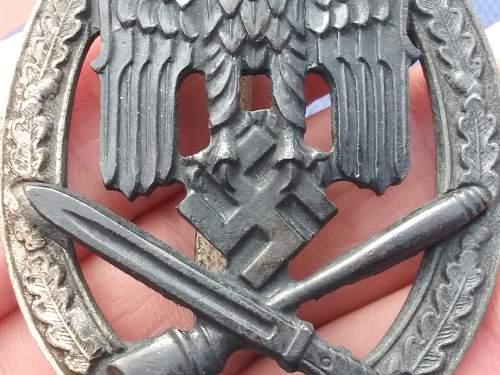 Allgemeines Sturmabzeichen RK 75?